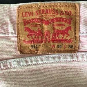 Levi's 511 Slim Fit Stretch Jeans Zeke